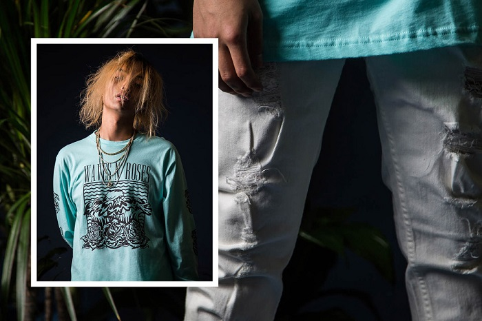Pink Dolphin Fall Winter 2015 Editorial Featuring Keith Ape-14