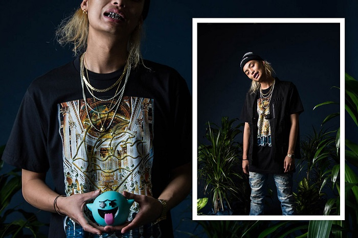 Pink Dolphin Fall Winter 2015 Editorial Featuring Keith Ape-2
