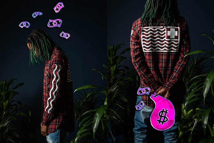 Pink Dolphin Fall Winter 2015 Editorial Featuring Keith Ape-8