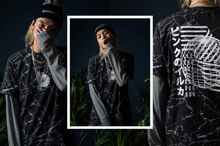 Pink Dolphin Fall Winter 2015 Editorial Featuring Keith Ape-9