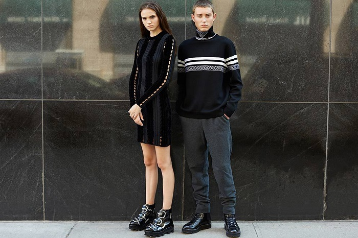 Alexander Wang Fall Winter 2015 Editorial by Opening Ceremony-1