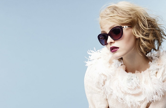 Chanel Eyewear Campaign Featuring Lily-Rose Depp-4