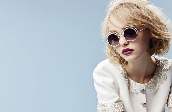 Chanel Eyewear Campaign Featuring Lily-Rose Depp-5