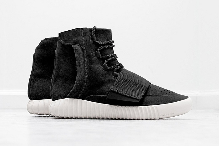 First Look at the adidas Originals Yeezy 750 Boost's in Black-1