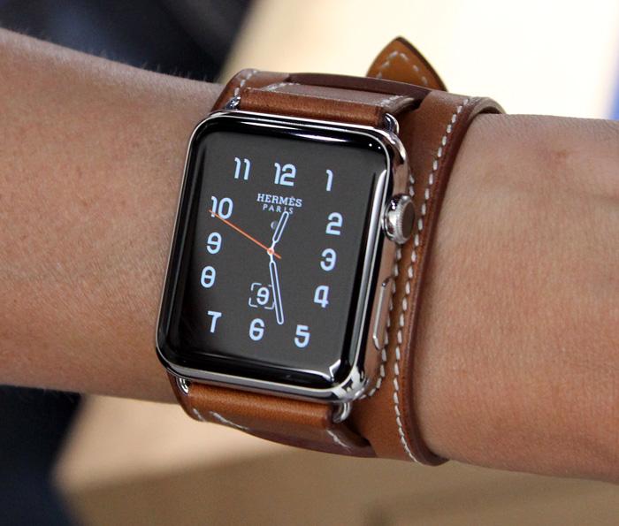 Hermes Apple Watch Brown Leather