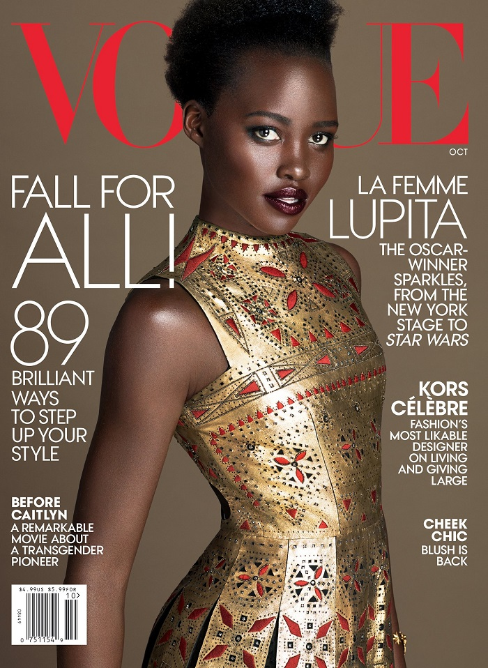 Lupita Nyong'o Graces the Cover of Vogue-1