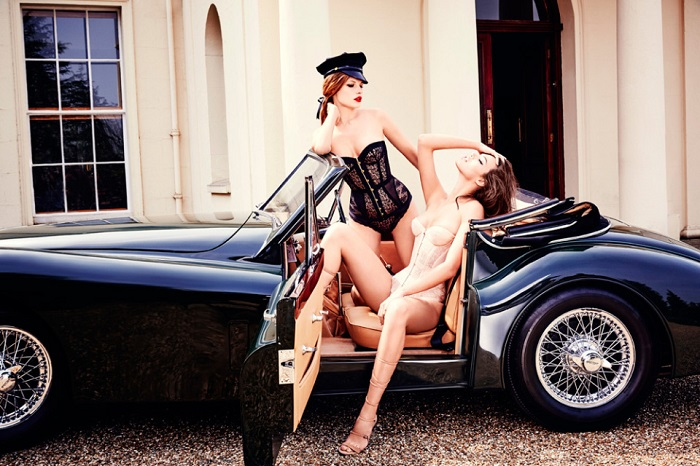 Agent Provocateur Fall Winter 2015 Campaign-17