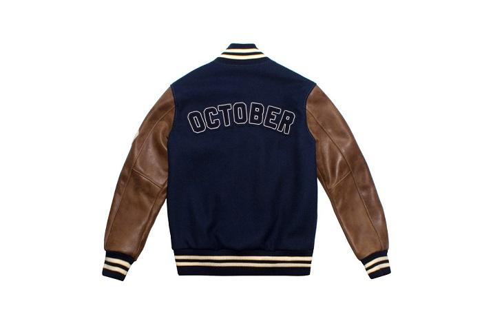 OVO x Roots Fall 2015 'October' Varsity Jacket-2