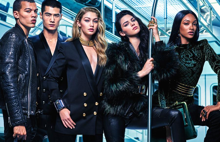Kendall-Jenner-Gigi-Hadid-Jourdan-Dunn-Balmain-HM-2