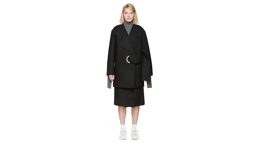 Jacquemus-Wool-Eyelet-Coat