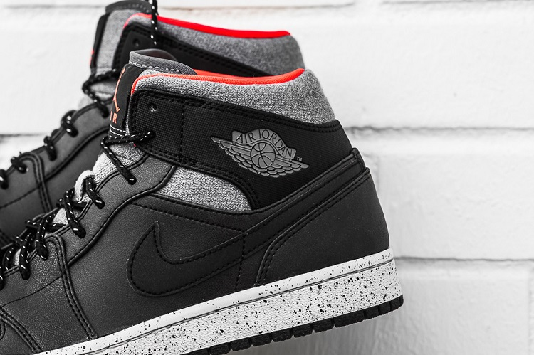 29ddd3ca085 Air Jordan 1 Mid In Black/Dark Grey/Infrared 23 | Sidewalk Hustle