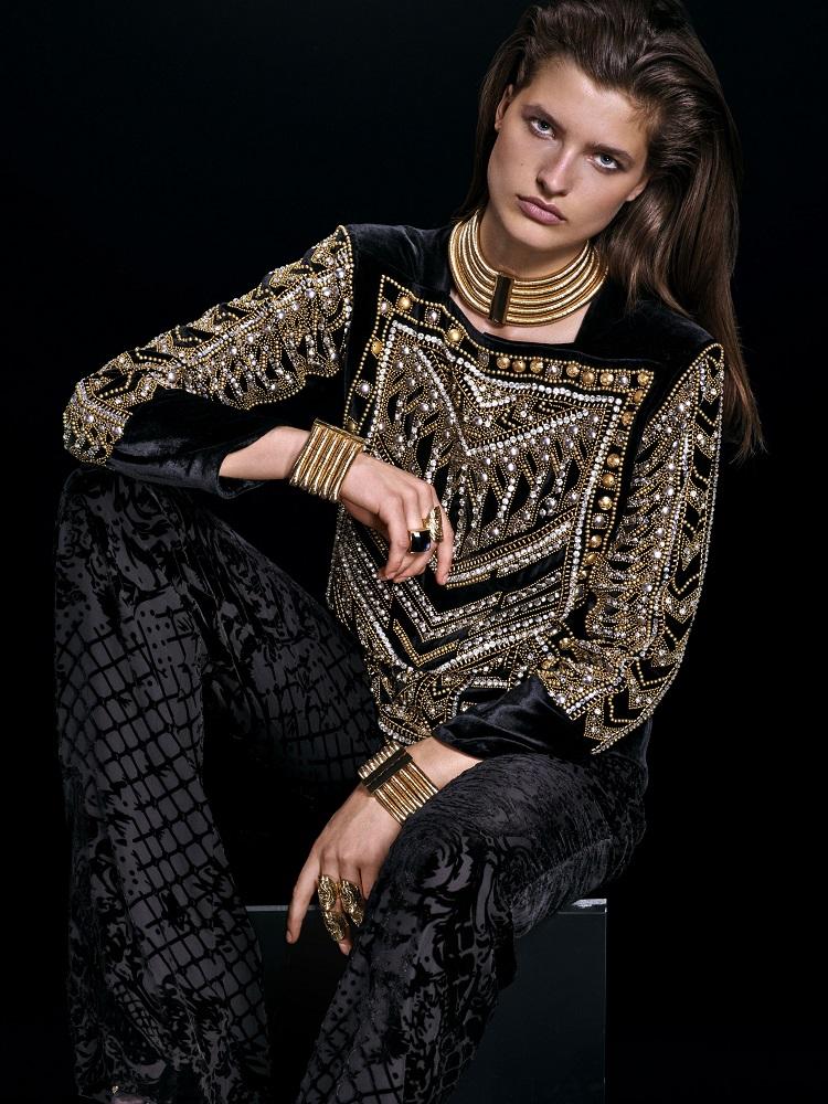 Balmain x H&M Official Lookbook-11