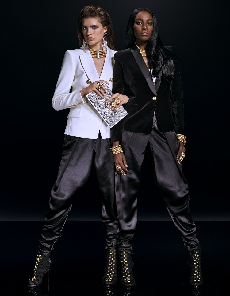 Balmain x H&M Official Lookbook-5