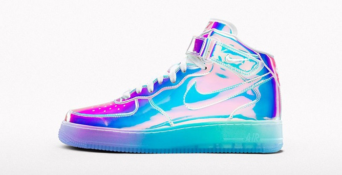 NIKEiD Brings Us The Iridescent Nike Air Force 1-1