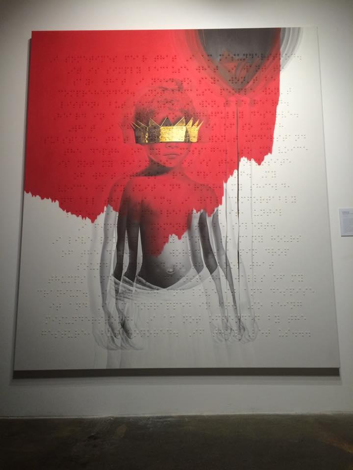 Rihanna R8 LA cover