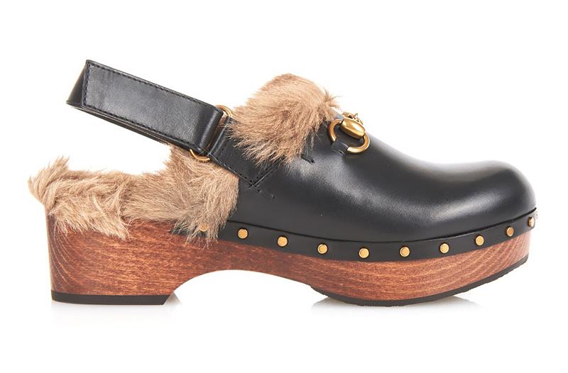 Top 8 Shoe Style fur-clogs-gucci