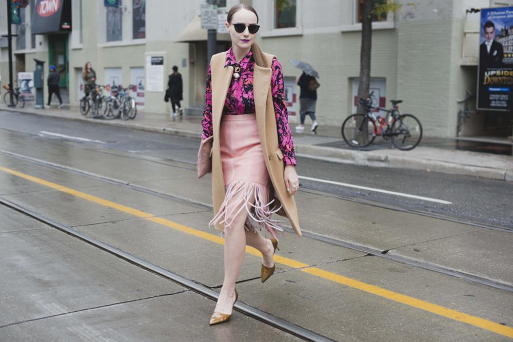 Toronto Fashion Week Day 2 Street Style