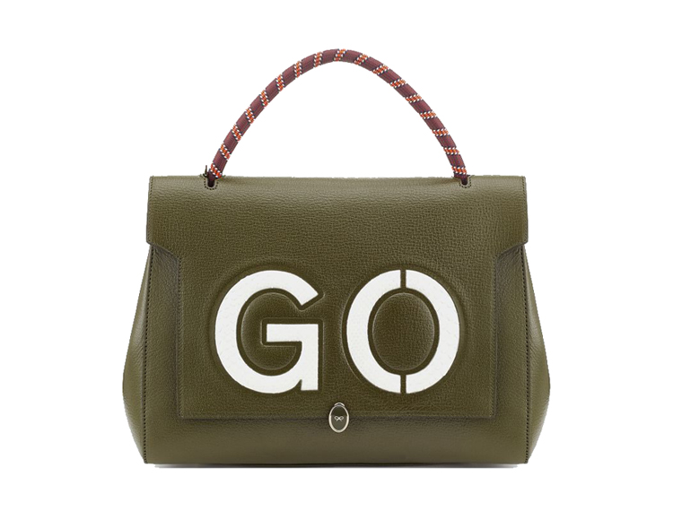 Anya Hindmarch Bathurst Go Small Textured-Leather Tote