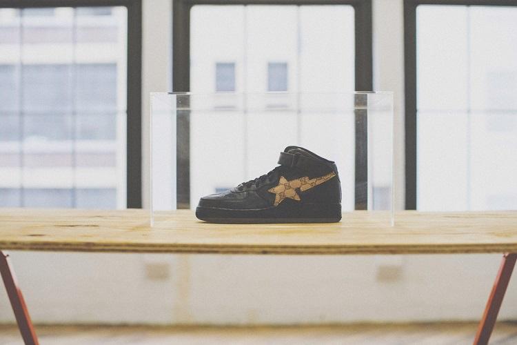 Heron Preston Unveils His Custom Nike Air Force 1s-2