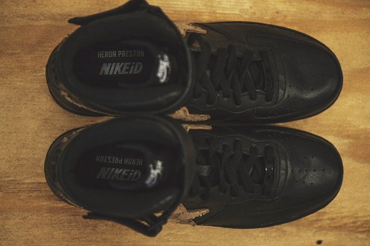 Heron Preston Unveils His Custom Nike Air Force 1s-3