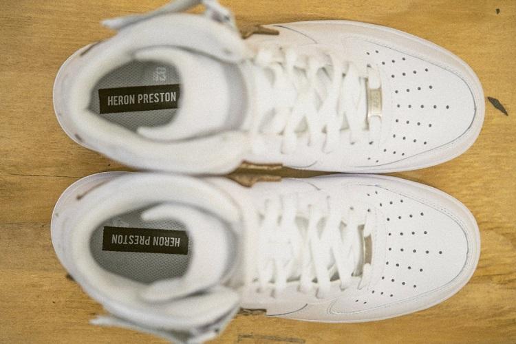 Heron Preston Unveils His Custom Nike Air Force 1s-5