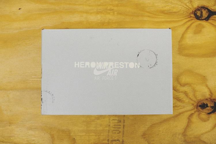 Heron Preston Unveils His Custom Nike Air Force 1s-7