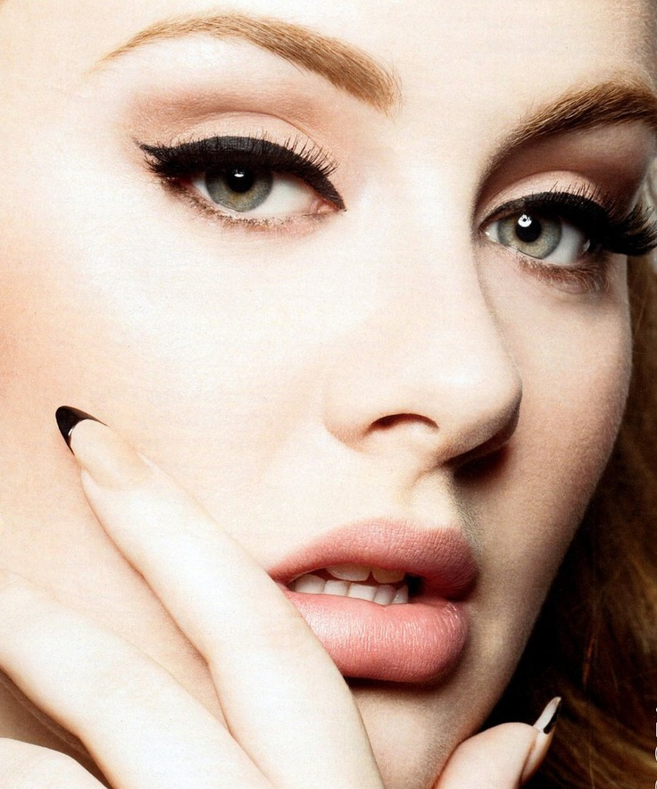 How To Adele Make Up
