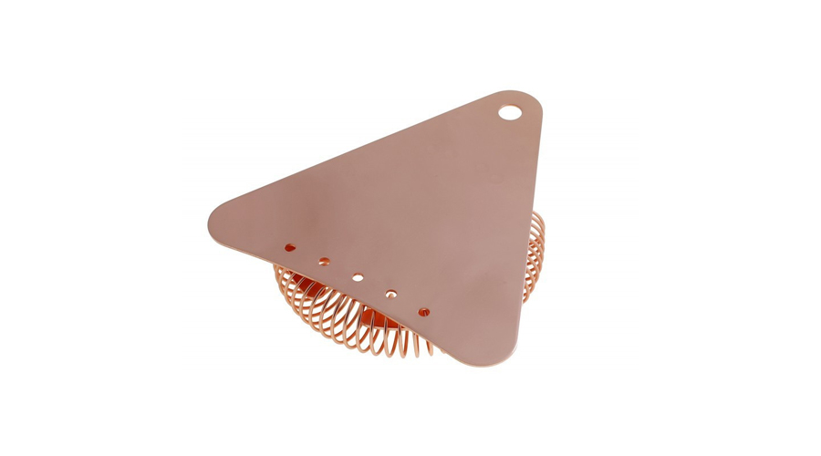 Japanese Copper Triangle Strainer