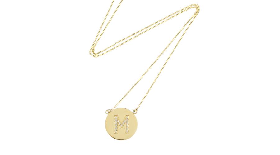 3. Jennifer Meyer 18-Karat Gold Diamond Necklace, $2,186