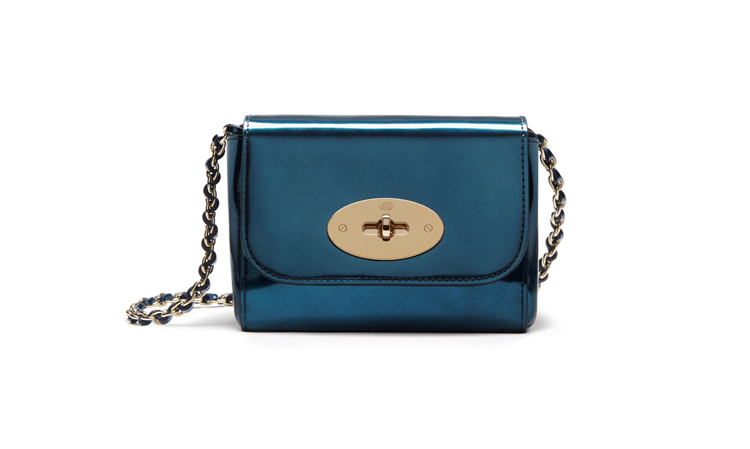 Mulberry Mini Lily Metallic Leather