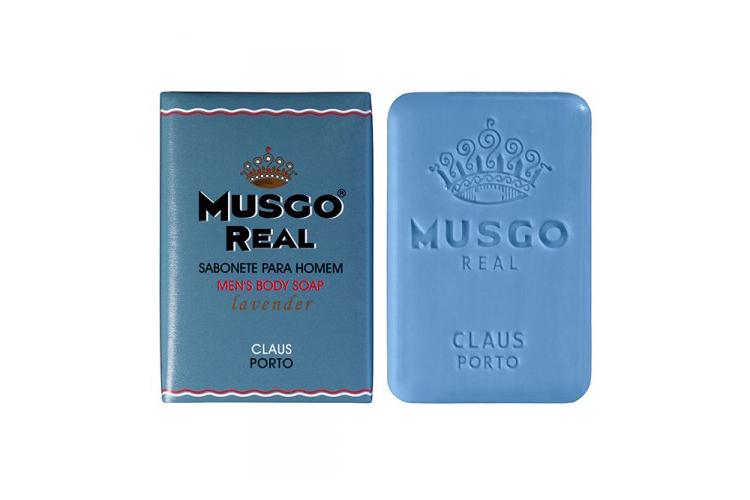 Musgo Real Lavender Mens Body Soap