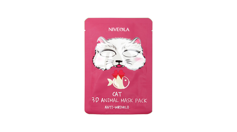 Niveola 3D Cat Mask Pack