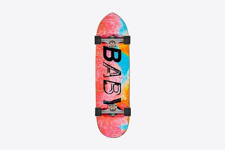 Saint Laurent Unveils Limited Edition Skate & Surfboards-3