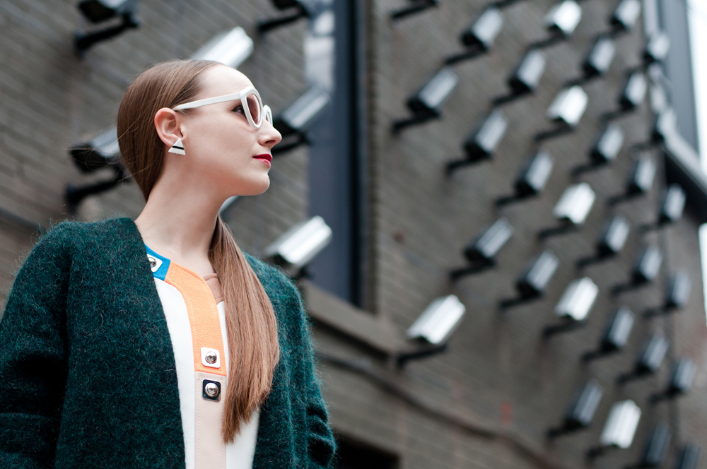 Seventies Street Style Profile Left
