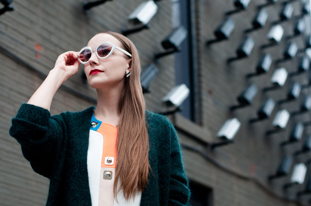 Seventies Street Style Sunglasses