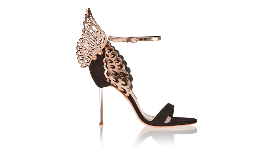 Sophia Webster Metallic Leather Sandals