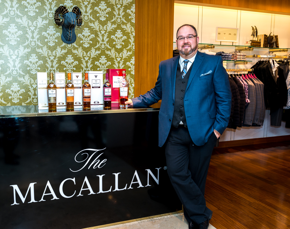 The Macallan Whisky Lounge at Harry Rosen-Whisky Master