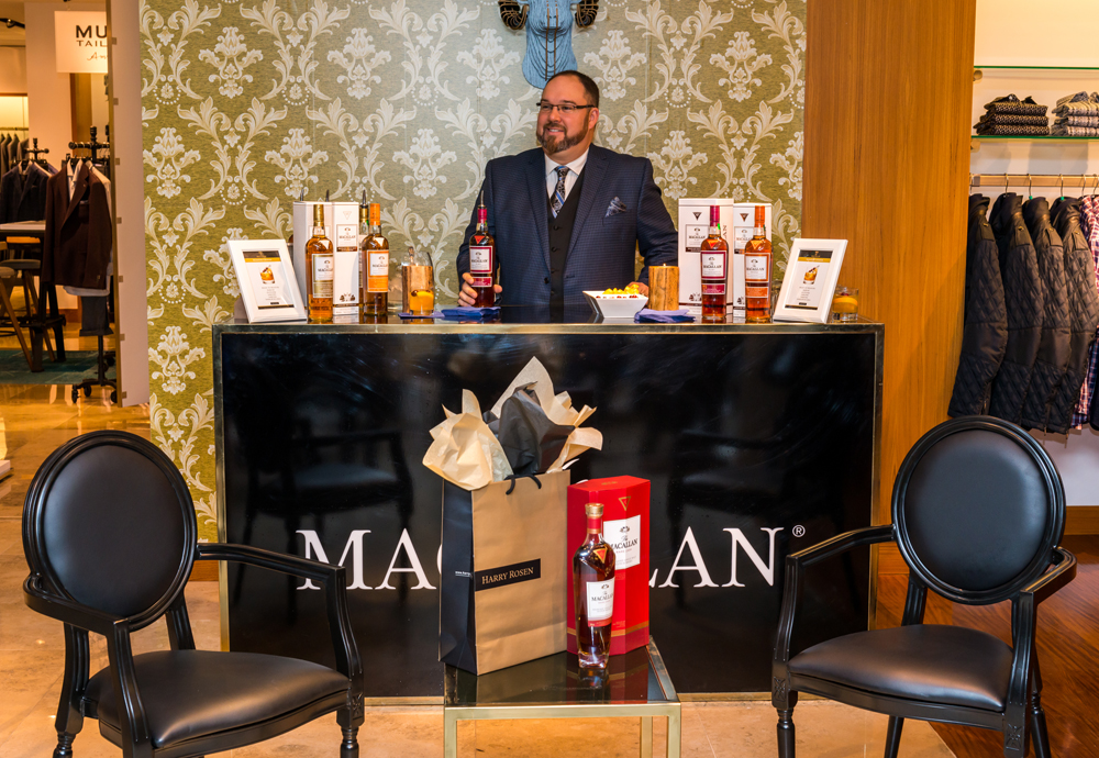 The Macallan Whisky Lounge at Harry Rosen