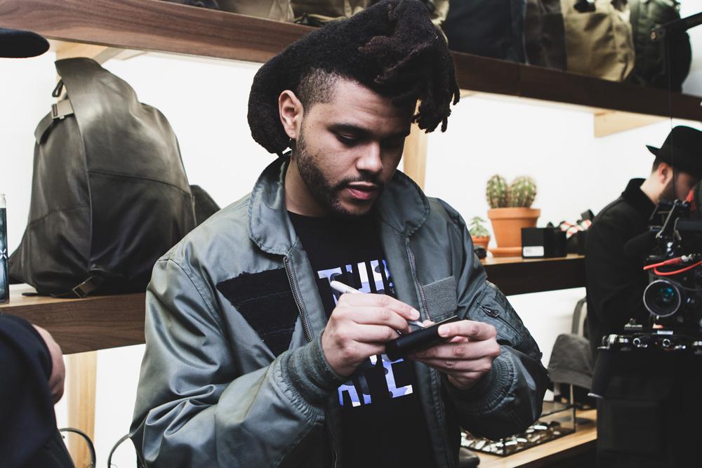 The Weeknd PAX Signing Sidewalk Hustle