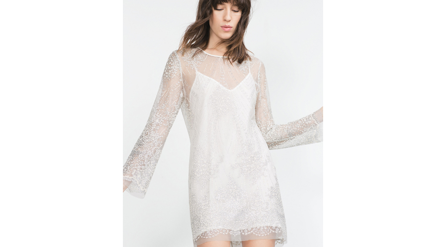 Zara Tulle Dress, $60