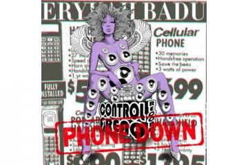 badu phone down