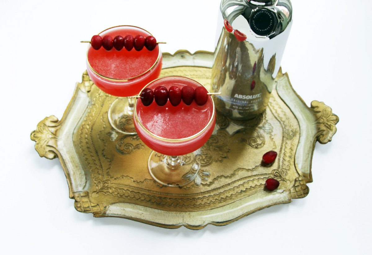 Absolut Electrik Vodka Cocktail