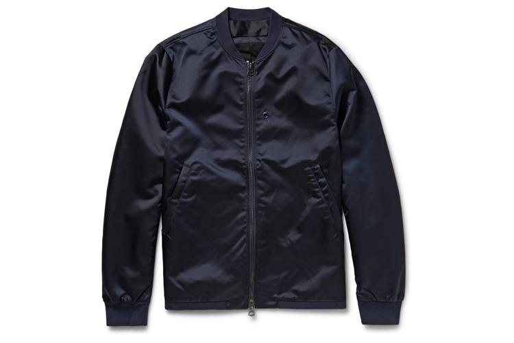 Acne Studios Selo black bomber jacket