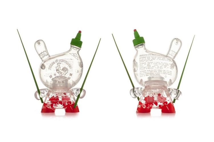 Kidrobot x Sket One Sriracha Bottle Dunny-2