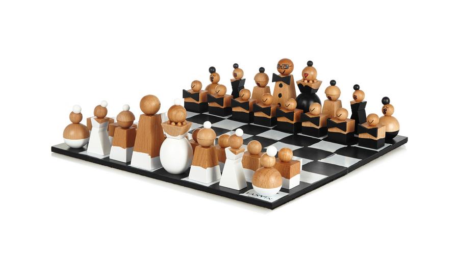 7. Lanvin Wooden Chess Set, $559