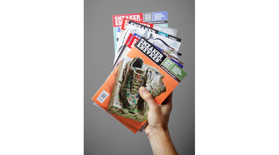 1. Sneaker Freaker Magazine Subscription