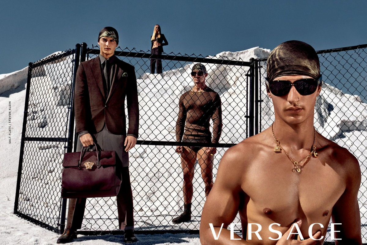 Photo: Steven Klein for Versace
