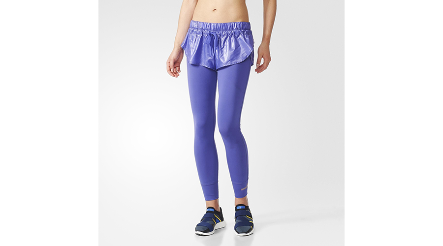 Adidas by Stella McCartney Essential Short Tights, $100