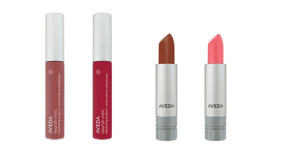 Aveda SS2016 lipstick and glaze