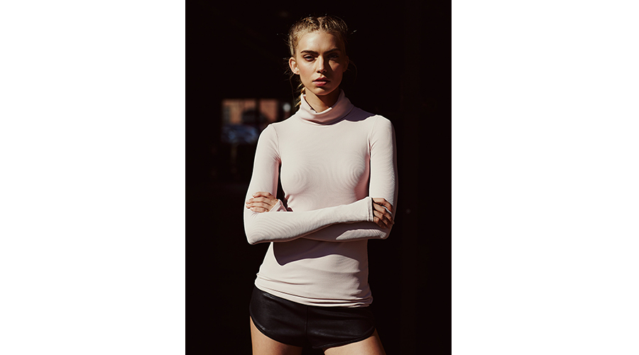 Free People FP Movement Get Movin' Smooth Turtleneck, $111